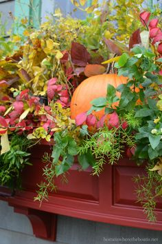 Fall Transition Window Box