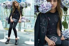 #black #style #teen #girl #fashion #sisley #young #2015 #popular
