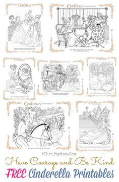 Cinderella Printables All Time