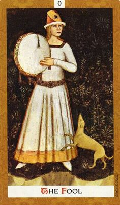 0. The Fool: Golden Tarot