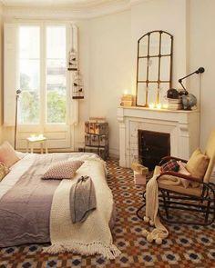 Bedroom love - gorgeous floors and feel