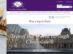 Travel the World Through Chocolate Paris Sweepstakes