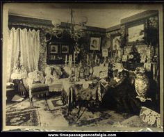 The four essential design basics of Victorian interior décor: Color, Pattern, Opulence and, of course, Romance