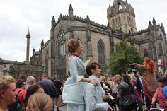 - and go for the fringe festival in August of course