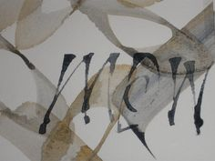 Kalligrafie Mary Koperdraat