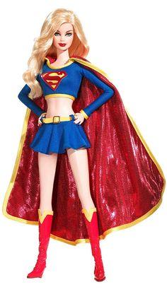 Superhero Barbie Dolls - Supergirl http://www.squidoo.com/barbie-the-superhero