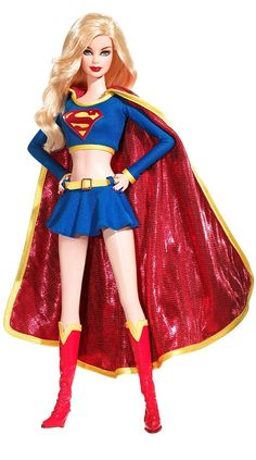 Superhero Barbie Dolls - Supergirl http://www.squidoo.com/barbie-the-superhero awesome Macee Davis
