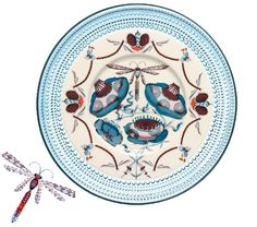 Ittala: Kastehelmi plate and Korento plate Scandinavian Design, Finland, Plates, My Love, Tableware, Happiness, Living Room, Home Decor, Kitchen