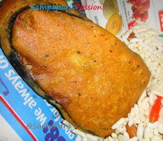 Sampaparis Passion: Beguni- (Batter Fried Eggplants)...:)