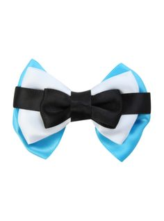 Hair bow inspired by Alice's dress!