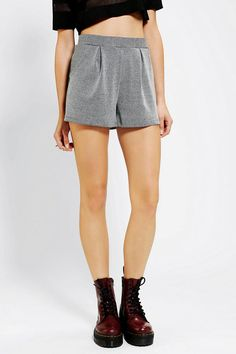 #UrbanOutfitters          #Women #Bottoms           #allover #stretchy #rounded #high-waisted #comfortable #fade #textured #sides #sparkle #pockets #waist #pattern #stripe #knit #leg #short #full             Sparkle & Fade Textured Knit Full Short             The most comfortable & breezy knit short from Sparkle & Fade in an allover textured stripe pattern.? Topped with a stretchy, pleated waist with rounded pockets at the sides.? Finished with a full, relaxed leg and an exposed back zip.?…