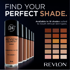 Visit your nearest Revlon retailer for a FREE ColorStay Foundation 7-day trial sample to see which shade is best suited to your skin.