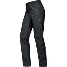 GORE BIKE WEAR Women's Long Rain Cycling Overtrousers, Super-Light, GORE WINDSTOPPER, ELEMENT LADY WS AS Pants, Size XS, Black, PWELEL. Super light Women's Rain Cycling Overtrousers for the recreational cyclist (mountainbike and road cycling) on cycling tours with friends, Optimal for short distances, Comfort fit - Always cutting a good figure. Wearable year around, Windproof, Water-resistant and extremely breathable due to GORE WINDSTOPPER Technology. Not just a real head turner on a...