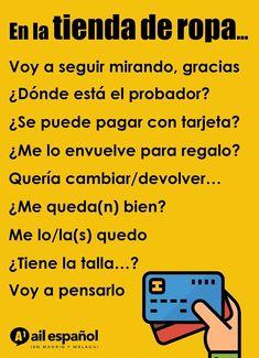 Spanish Phrases, Spanish Vocabulary, Spanish 1, Spanish Words, Spanish Language Learning, Teaching Spanish, Quito, Malaga, Spanish Conversation