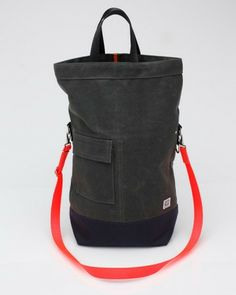 Messenger Bag - Grey w/ Chocolate Flap | Graf & Lantz ($200-500) - Svpply