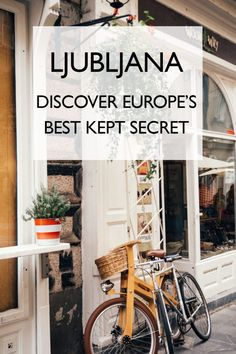With a thriving foodie scene, laid-back vibes and more green spaces than you can shake a stick at, is Ljubljana Europe's best kept secret? These are the best things to do in Ljubljana, Slovenia during your stay. Europe Travel Tips, European Travel, Places To Travel, Travel Eastern Europe, Travel Destinations, Travel Guides, Visit Slovenia, Slovenia Travel, Bled Slovenia