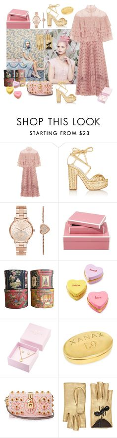"""Wallpaper Pattern"" by juliabachmann ❤ liked on Polyvore featuring Valentino, Alchimia Di Ballin, Michael Kors, Two's Company, Ted Baker, Dolce&Gabbana and Gucci"