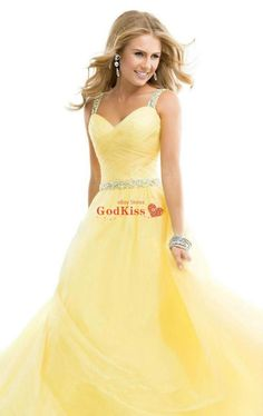 Yellow Chiffon Wedding Evening Formal Party Ball Gown Prom Bridesmaid Dress 6-16 in Clothes, Shoes & Accessories, Wedding & Formal Occasion, Bridesmaids' & Formal Dresses | eBay