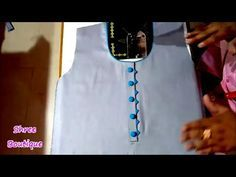 In this tutorial I am going to show you a Beautiful Side Chaak Design, Neck Design and Sleeves Design for Kurtis / Kameez Side Chaak Design for Kameez, Neck . Chudidhar Neck Designs, Neck Designs For Suits, Neckline Designs, Dress Neck Designs, Kurti Neck Designs, Kurti Designs Party Wear, Sleeve Designs, Blouse Designs, Nail Designs