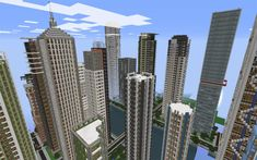 minecraft city buildings 07
