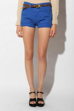 Urban Renewal Cuffed Denim Shorts
