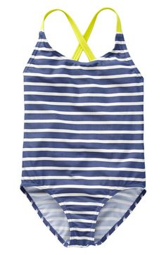 'fun' one piece swimsuit (toddler).  racerback swimsuit is cast in signature sunny colors・mini boden