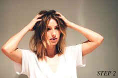 easy NYE hair how-to, the august diaries