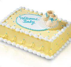 Baskin-Robbins | Baby Booties Keepsake Cake