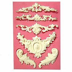 European relief lace mold fondant cake molds chocolate mould for the kitchen baking Silicone Sugar Decoration(China (Mainland)) Fondant Tools, Fondant Cakes, Fondant Bow, Fondant Tutorial, Fondant Flowers, Fondant Figures, Candy Making, Mold Making, Soap Molds