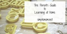 "LOVE this article ""The public school parent's guide to learning at home"" 