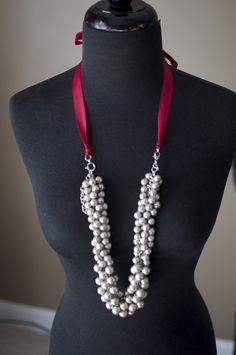 Showstopper with De La Creme ribbon by TheBlingTeam, via Flickr. Premier Designs Jewelry Carolyn Popp