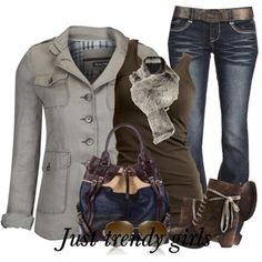Outfits in earthy tones for woman | Just Trendy Girls
