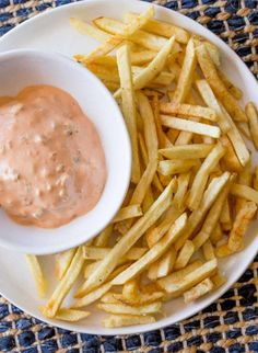 """In-N-Out Burger Spread is the delicious """"secret"""" sauce that is used on all burgers and topped on Animal Style Fries and it's easy to make!"""