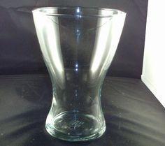 IKEA GLASS VASE  19121 ELEGENT GLASS  CURVED VASE #IKEA #ArtDecoStyle