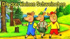 Die drei kleinen Schweinchen - Geschichten für Kinder - Videos für Kinder