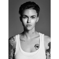 A Rose Amongst The Thorns ❤ liked on Polyvore featuring ruby rose and girls
