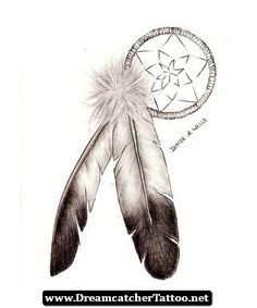 Native American Dreamcatcher Tattoos 06 - http://dreamcatchertattoo.net/native-american-dreamcatcher-tattoos-06/