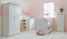 Georgeous bedroom for a little Princess! / Elbővölő babaszoba a kis hercegnőknek!