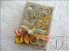 Discover Burlap Panel by Paula Cheney  - ideaology Wallflower Vellum