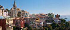 Byen Valparaiso, Chile