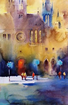 Watercolor: Shadows and Light (2012) Viktoria & Slawa Prischedko