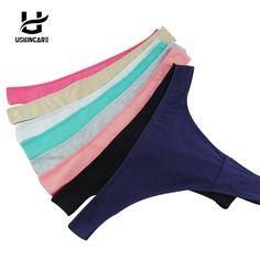 209adc971 Uskincare Original New Ultra thin Women Seamless Thong Underwear Women G  String Panties Women Briefs Sexy lingerie Briefs-in G-Strings