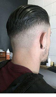 Men's Hair Haircuts Fade Haircuts short medium long buzzed side part long top short sides hair style hairstyle haircut hair color slick back men's hai. Medium Length Hair Men, Medium Hair Styles, Short Hair Styles, Slick Hairstyles, Undercut Hairstyles, Straight Hairstyles, Pompadour Men, Hair Trends 2015, Fade Haircut