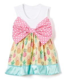 Look what I found on #zulily! Pink Reese Dress - Infant & Toddler #zulilyfinds