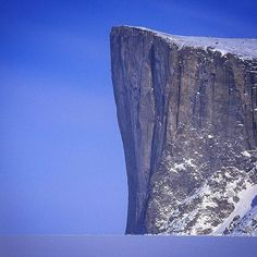 For most Baffin Island seems like an insane endeavor and then there's @MikeLibecki... Trying to define why the organic enthusiasm the obsession the addiction the love affair with gravity combined with vertical immaculate mayhem and the pursuit of these wild and steep journeys can be mysterious but this image helps a little. Dream big and climb those dreams. #MHWathletes #findingwinter #bigwall #climbing by mountainhardwear