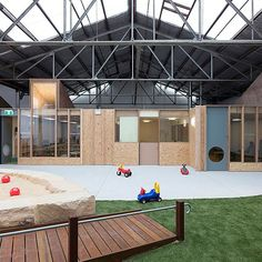 2015 National Architecture Awards Shortlist Educational Architecture  Camperdown Childcare by CO-AP (Architects) (NSW). Photo: Ross Honeysett. @will.fung #coaparchitects #rosshoneysett #natawards15 #australianarchitecture #architecture #architectureaustralia #australian_architecture by institute_architects_aus