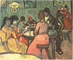 Vincent van Gogh Painting, Oil on Canvas Arles, France: October, 1888 The Barnes Foundation Philadelphia, Pennsylvania, United States of America, North America F: 478, JH: 1599 Van Gogh: Brothel, The Van Gogh Gallery