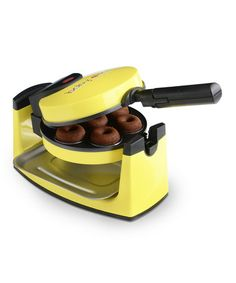 Take a look at this Yellow Mini Donut Maker by BABYCAKES on #zulily today! $24.99, regular 40.00