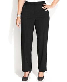 69.98$  Buy now - http://vimxu.justgood.pw/vig/item.php?t=zsoodu41925 - Plus Size Wide-Leg Dress Pants 69.98$
