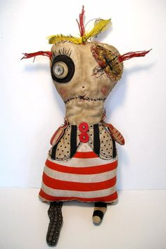 Art Doll by Junker Jane